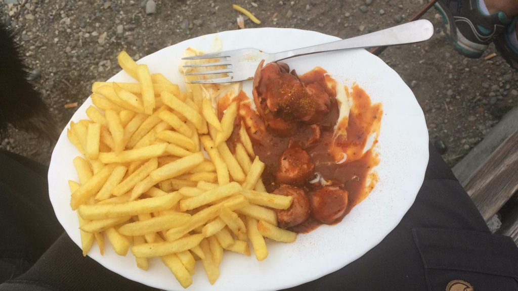 Curry Pommes am Bodensee